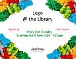 Lego Club 2018 poster