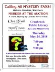 Murder at the Auction @ Manual Training School