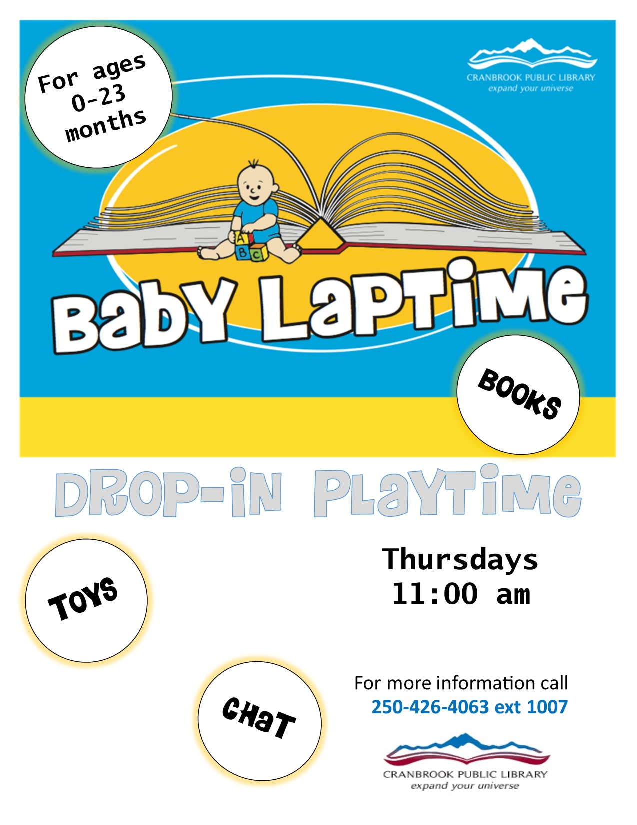 Baby Laptime @ Cranbrook Public Library