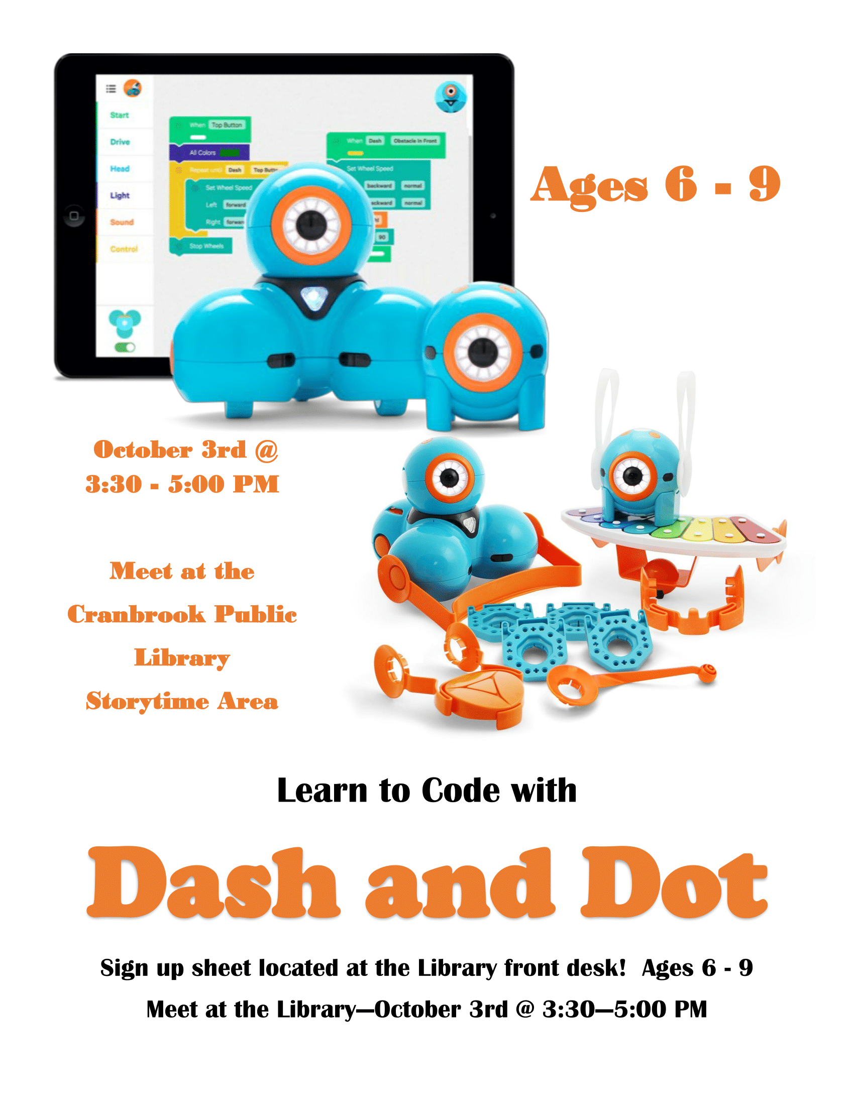 Coding With Dash and Dot
