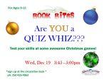 Book Bites @ Cranbrook Public Library