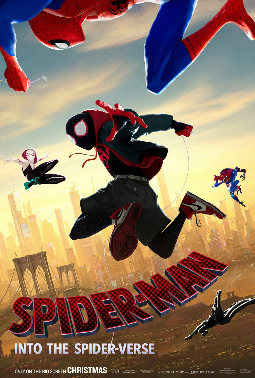Movie - Spiderman: Into the Spiderverse @ Cranbrook Public Library Manual Training School