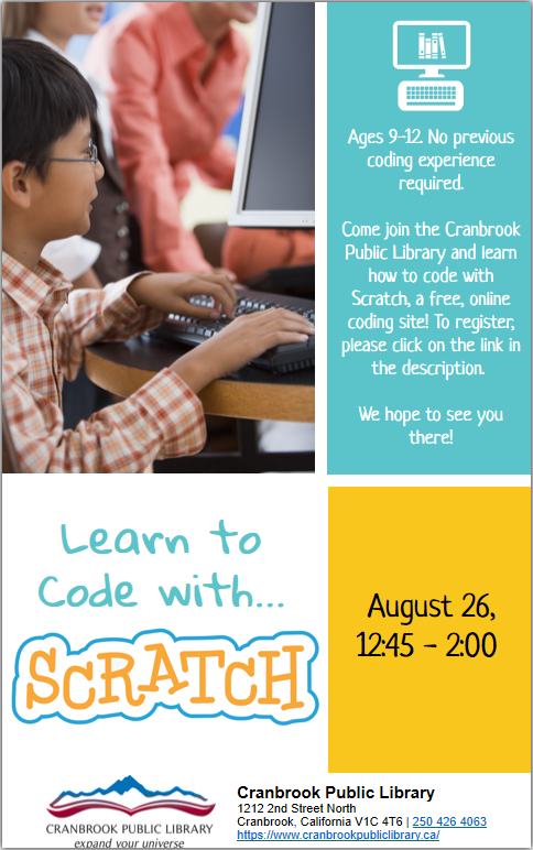 Learn to Code with Scratch!