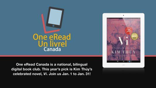 One eRead Canada Book Club @ Virtual/Online