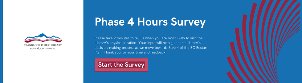 Phase 4 Hours Survey Banner